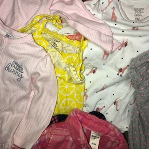 Carter's One Pieces - SOLD: 30+ pieces 6-9 months - brand new